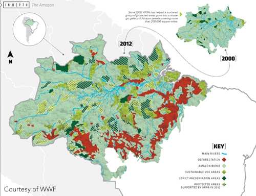 ARPA region map - Courtesy of WWF