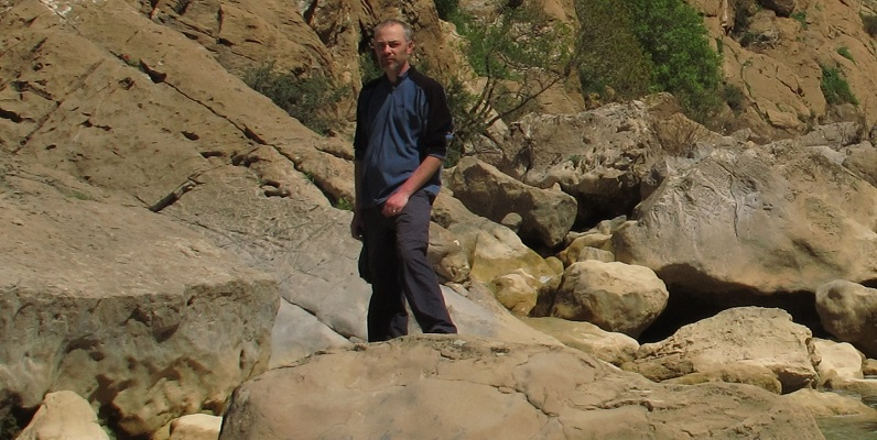 Courtesy of Alan Forrest and Tony Miller - fieldwork in Kanishok Gorge