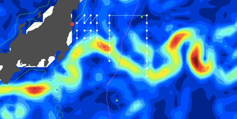 Courtesy of WHOI- Fukushima cruise map