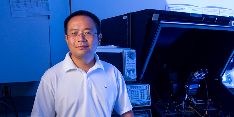 Courtesy of the Biodesign Institute at Arizona State University, photo of Nongjian (NJ) Tao