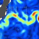 Ken Buesseler/WHOI, Fukushima cruise map