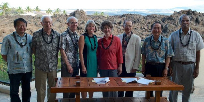 Courtesy of Michael Bolte - Thirty Meter Telescope - Master Partners Agreement Signing Ceremony