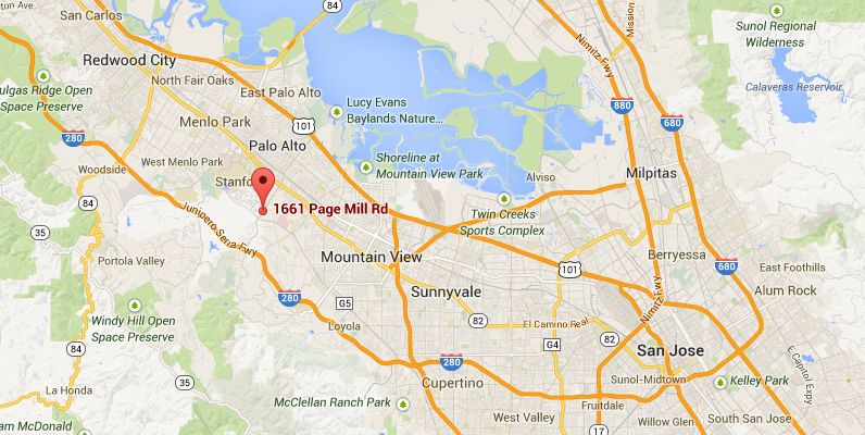1661 Page Mill Road Palo Alto, CA 94304